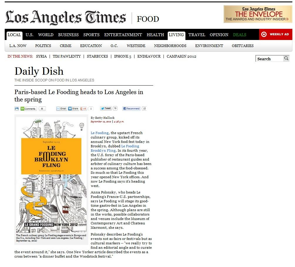 029 Los Angeles Times Fooding