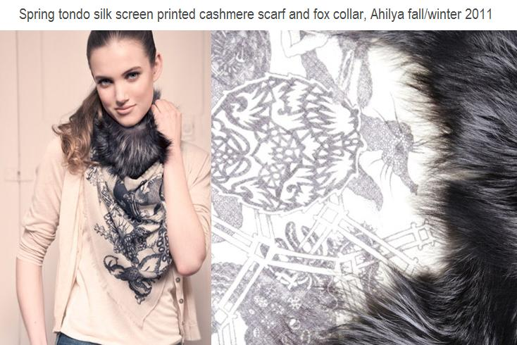 A7 Ahilya Photos Foulard